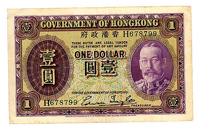 Hong Kong … P-311 … 1 Dollar … ND(1935) … *F-VF*