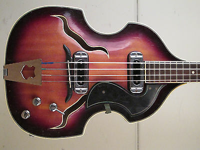 ♫ MIGMA VIOLIN BASS. All solid woods! (Meister HERBERT TODT?)  vintage DDR WOW!