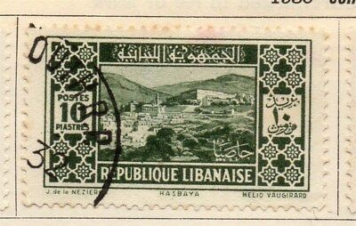 Great Lebanon 1930 Early Issue Fine Used 10p. 109532
