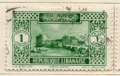 Great Lebanon 1931 Early Issue Fine Used 1p. 109545