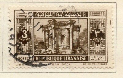 Great Lebanon 1931 Early Issue Fine Used 3p. 109549