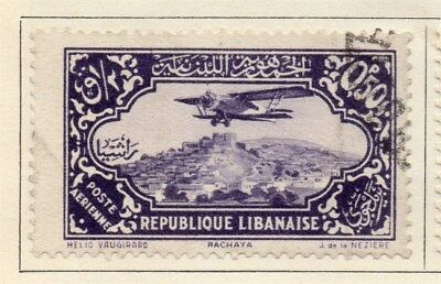 Great Lebanon 1931 Early Issue Fine Used 50p. 109550
