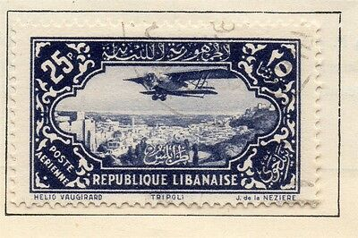 Great Lebanon 1931 Early Issue Fine Used 25p. 109554