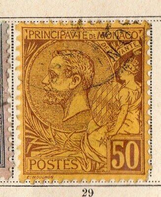 Monaco 1891 Early Issue Fine Used 150. 109709