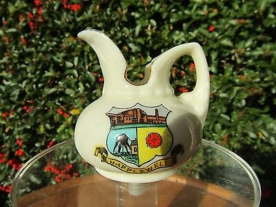 Crested Wine Ewar/Jug with Mapplewell Crest in VGC Messors Lodge & Sons Barnsley