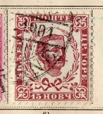 Montenegro 1898 Early Issue Fine Used 15h. 109902