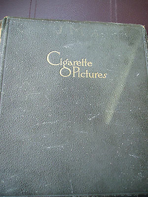 Early Cigarette Picture Album With 28 Nicolas Sarony Cards