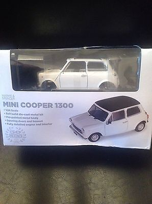 Mini Cooper Self Build Die Cast Metal Kit BNIB From Marks And Spencer's