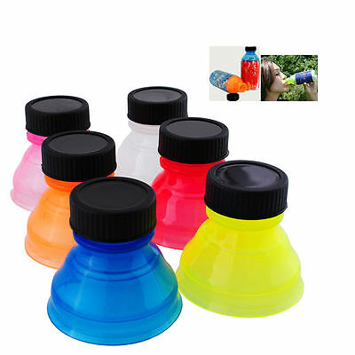Reusable Useful 6Pcs/set  Snap On Pop Tops Can Bottle Caps For Soda Drink Lid