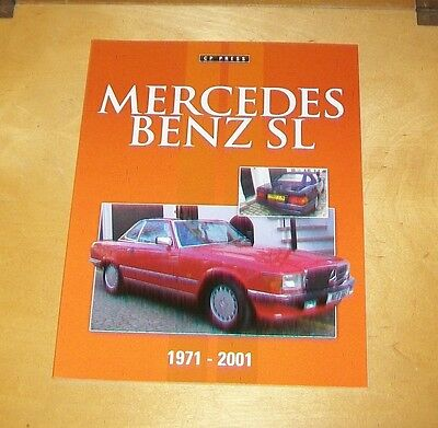 Mercedes Benz Sl 1971-2001 Book About The Cars. Colin Howard. 2014 Cp Press