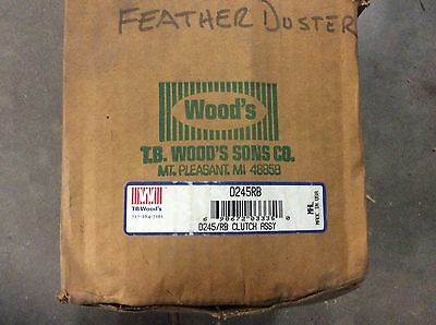 TB Woods Disco-O-Torque Hydraulic Clutches D245/RB Clutch Assy. D245RB