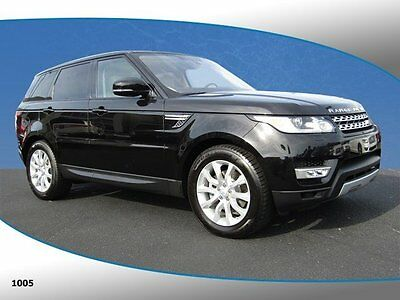 2016 Land Rover Range Rover Sport  2016 SUV Used Intercooled Supercharger Premium Unleaded V-6 3.0 L/184 Automatic