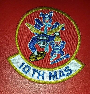 USAF 10th Military Airlift Squadron Patch