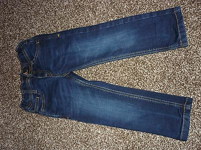 M & S  Boys Stretch Blue  Jeans - Age 2-3 years