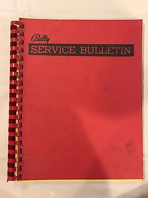 Bally Night Rider and Freedom Pinball Service Bulletin