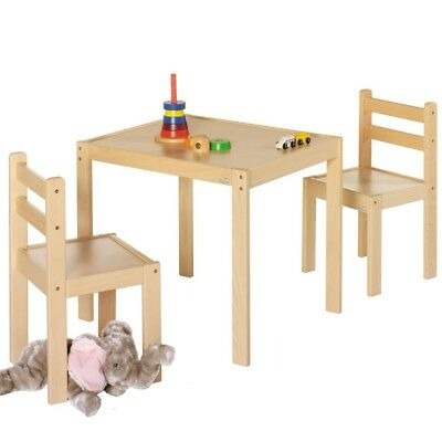 Geuther 2411 Set Kalle & Co Child seat Nature 3 PCs. Table and Chairs