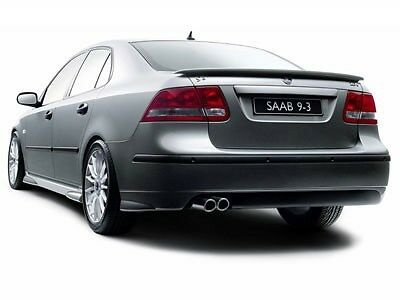 Rear spoiler for saab 9.3 ii aero 2003 and up-12786790