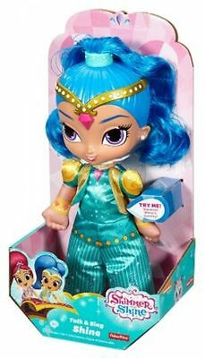 Shimmer & Shine - Talk & Sing Doll - Shine - Brand New
