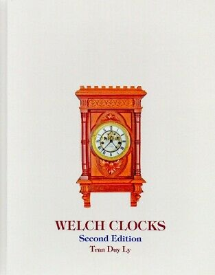 New, unopened WELCH CLOCKS by Tran Duy Ly w 2013 price booklet, Free Shipping!