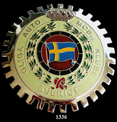 Car Grille Emblem Badges - Swedish Auto Club