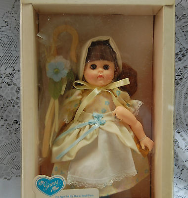 """Vogue Ginny 8"""" Poseable Doll Little Bo Peep #71020 With Box 1988"""