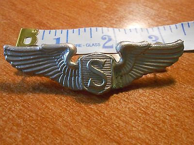 Replica WW2 United States Air Force Service Pilot Wings Badge (A)