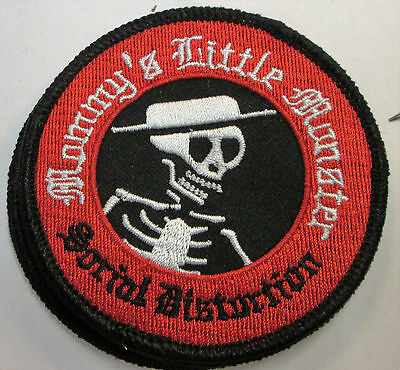 Social Distortion Collectable Rare Vintage Patch Embroided 2014 Metal Live