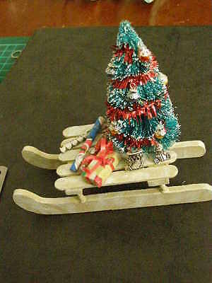 Luge Decoree Pour Table De Noel