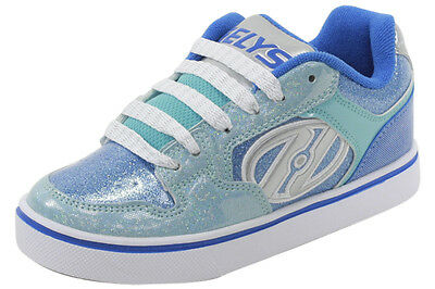 Heelys Girl's Motion Plus Royal/New Blue/Ice Blue Skate Sneakers Shoes