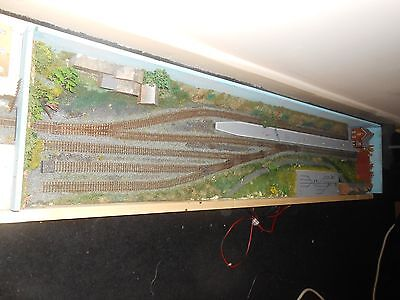 N Gauge Fold Up Model Railway (Needs some attention and TLC)