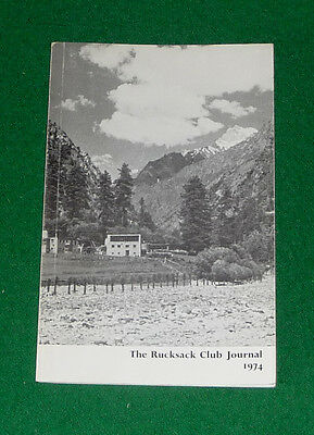 THE RUCKSACK CLUB JOURNAL 1974. Mountaineering, Himalayas, Swiss Alps