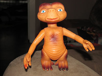 Vintage 80's 1982 E.t. Extra Terrestrial Ko Figure Made In Taiwan Rare!