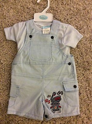 Baby, Boy, 0-3 Months, Dungarees