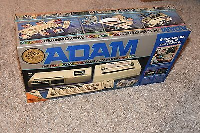 vintage Colecovision Adam Family Computer System Original Box video game console