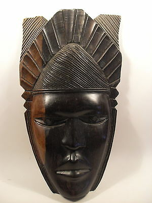 Wooden Hand Carved Tribal Mask