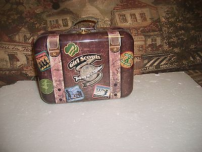 Girl Scout 100 anniversary metal lunchbox 1912-2012 never used
