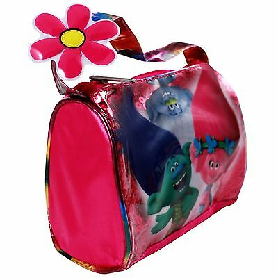 Dreamworks Trolls Satin Flower Purse Girls Dress Up Accessory