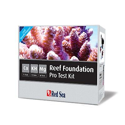 Red Sea Reef Foundation Test Kit Calcium CA KH / Alkalinity and Magnesium Marine
