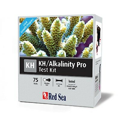 Red Sea Alkalinity Pro Reef Test Kit 75 Tests Marine Aquarium Water