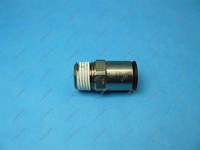 "Legris 3175 62 22 Push-in Male Connector 1/2"" Tube x 1/2"" NPT Male Nylon/NPB"