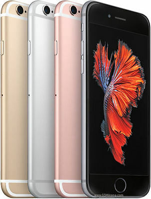 Apple iPhone 6s 128gb (GSM Unlocked)Gold Silver Rose Gold Gray