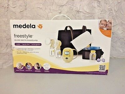 Medela Freestyle Hands-Free Double Electric Breast Pump Deluxe Sealed 67060 New