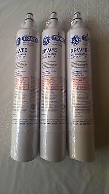 GE General Electric RPWFE Refrigerator Filters, 3-Pack