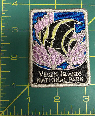 New Traveler Series Patch - Virgin Islands National Park Embroidered Patch