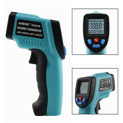 Non-Contact IR Infrared Laser Digital Temperature Thermometer Gun -50℃ ~ 550℃