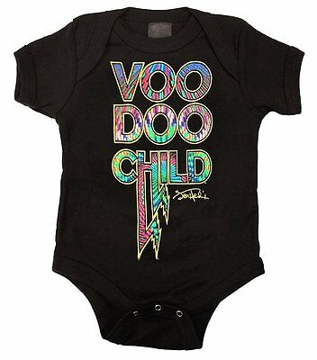 Jimi Hendrix Voodoo Child Baby Infant Bodysuit Officially Licensed 6 12 18 24 Mo