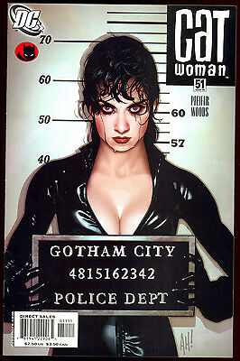 Catwoman #51 Adam Hughes Lost Numbers Variant Cover Dc Comics