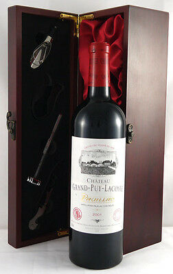 2001 Chateau Grand Puy Lacoste 2001 Vintage Red Wine