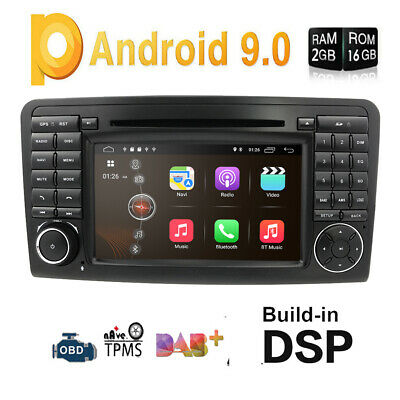 "Android 5.1 7"" Car DVD Player GPS Navi for Mercedes Benz ML GL W164 ML300 ML350"