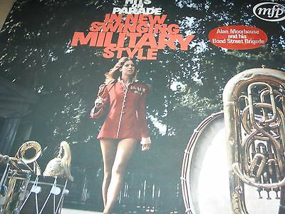 Hits On Parade In New Swinging Military Style Alan Moorhouse 1970 LP MFP 1414